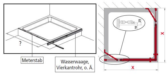 Duschkabine Einbauen badezimmer ratgeber ihren duschbereich richtig aufmessen